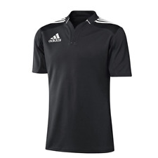 ADIDAS 3 STRIPE RUGBY JERSEY NEW 50€ functional Polo shirt t-shirt shortsleeve