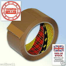 3M™ Scotch® | Box Sealing Parcel Packing 371 Tape | 48mm x 66m | Buff Brown