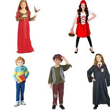 Girls Boys Kids Fancy Dress Costume Outfits World Book Day Character Costume Fun