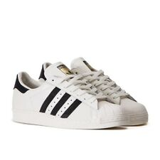 ADIDAS ORIGINALS SUPERSTAR WHITE LEATHER 80S VINTAGE DELUXE MEN'S SHOES B25963