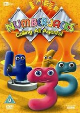 Numberjacks Calling All Agents! [DVD] By Numberjacks DVD Region:2 Discs:1 Chi