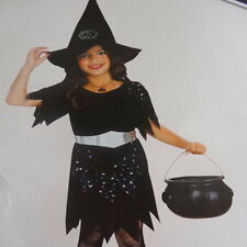 girls witch costume fancy dress characters fairytale evil black halloween book