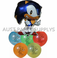 SONIC THE HEDGEHOG BALLOON BIRTHDAY PARTY BAG GIFT CENTERPIECE DECORATION FAVOR
