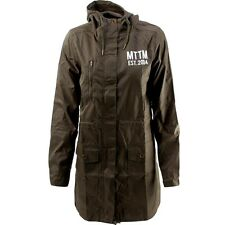 $129 Married To The Mob Women Arch Mob Parka Jacket green