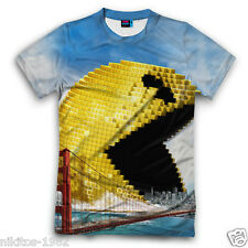 Pixels horror picture T-shirt full print 3D New Cool Russian Sports Size XS-5XL