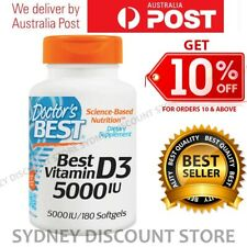 Doctor's Best Best Vitamin D3 5000 IU 180 or 360 or 540 or 720 Softgels