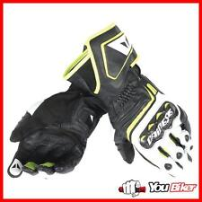 Gloves Dainese Carbon D1 Long Black/White/Fluo Yellow