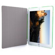 Detachable Slim Flip Magnetic Leather Smart Cover Hard Back Case for iPad 2 3 4