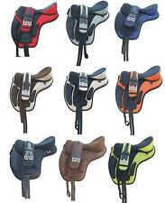 "All Purpose Synthetic Treeless Saddle 16"" 17"" 18"" Size Freemax Saddles for sale"