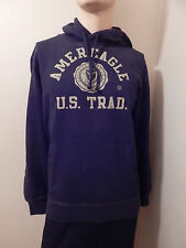 NEW AE American Eagle Mens Popover Hoodie NAVY BLUE Sweatshirt XLT,XL,L,M