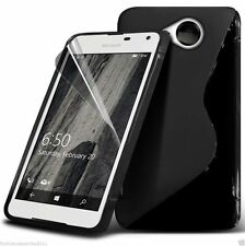 S-Line Slim TPU Wave Gel Rubber Phone Case Cover for Lumia