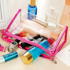 Charming Girl's Daily Travel Cosmetic Bags Makeup Case Toiletry Transparent Wash