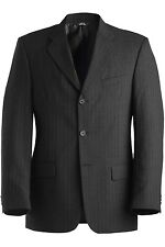 Men's Pinstripe Wool Blend Suit Coat 3660