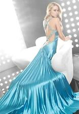 JASZ COUTURE 4068 Formal Prom Pageant Gown Sizes 4-16 AUTHENTIC NWT