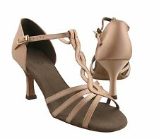 HenryG Women Dance Shoes with braided straps, Womens Dance Sandals HGB-23003