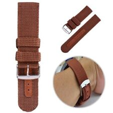 Militray Army Nylon Canvas Wrist Watch Band Strap #G 18mm 20mm 4 Color Hot