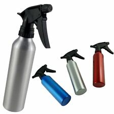 HAIR DRESSERS ALUMINIUM WATER SPRAY BOTTLE - PUMP SPRAYER -HAIR SALON 500/300ML