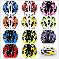 Adult Bicycle Riding Sport Protective Adjustable Bright Colors One piece Helmet