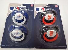 MLB 2 Pack Orthodontic Pacifiers 3 + Months