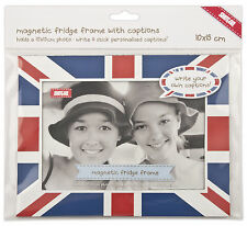 Shot2go personalised magnetic photo fridge frame union jack 4x6