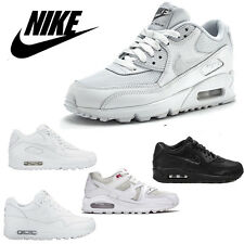 Nike Air Max Womens Girls Ladies White School Trainers Sports Shoes Size 3 4 5 6