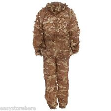 Military Hunting 3D Bionic Leaf Camo Ghille Suit Set CS Savage Jungle Sniper