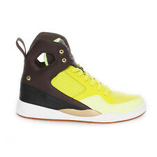Reebok A. Keys Court Woman's V60898 Hi Top Sneakers Casual Shoes Yellow