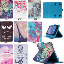 "Universal 7"" 10"" Inch Tablet PC Magnetic Flip PU Leather Stand Wallet Case Cover"
