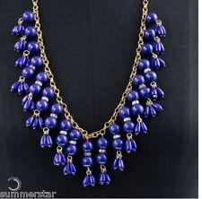 J Crew Droplet Necklace Brilliant Blue Or Yellow