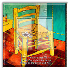 Light Switch Plate Cover Van Gogh Chair Lesson w/ Rocker Switch or Outlet