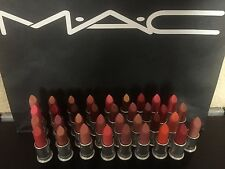 X1 MAC LIPSTICK FROST CREMESHEEN (PICK UR SHADE) 100% AUTHENTIC - BNWOB
