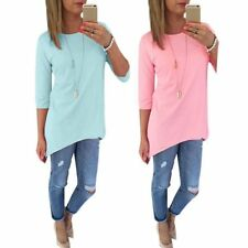 Fashion Women's Ladies Loose Long Sleeve Casual Blouse T Shirt Tops Blouse Tee