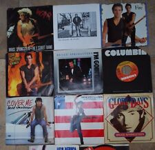 Bruce Springsteen 45 Record Glory Days War My Hometown I'm on Fire Cover Me USA