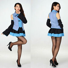 Vocaloid/Hatsune Miku Girl Lolita Cosplay Uniform Costume Dress Performance Wear