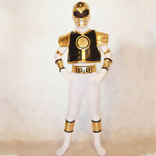 Boys Mighty Morphin Power Rangers costume kids cosplay child Halloween bodysuit