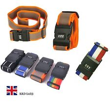 High Quality Adjustable Combination 2M Luggage Strap Travel Baggage Tie Belt NEW