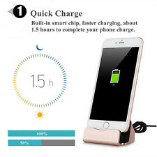 Desktop Charger DOCKING STATION Sync Charge Stand Cradle for iPhone 6 6s 6 Plus