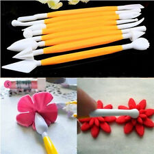 Hot 8pcs Fondant Craft Cake Decorating Flower Modelling Sugarcraft Tool Cutter