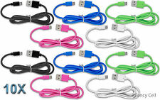 10x 3ft Heavy Duty Data Sync Charging Universal USB Cable Cord