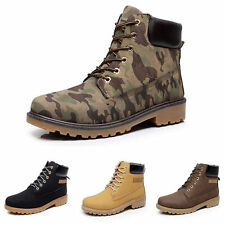 Fashion Boots Mens Winter Leather Trip Sports Outdoor Waterproof Rubber Snow NEW