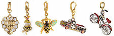 MacKenzie-Childs Charms-Bee, Parchment Check Heart, Frog, Farm Truck & Bicycle