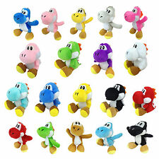 Yoshi Species Series Super Mario Bros Plush Toy Stuffed Animal Different Colors