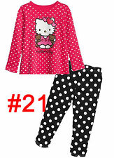 CLEARANCE SALE Boys  PJS  NEW  Kids  Pyjamas  1-6 Years Pajamas  Girls 209