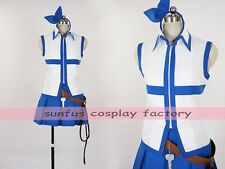 HOT Anime Fairy Tail Lucy Heartfilia cosplay costume Halloween wizard outfit