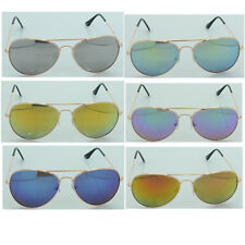 Men Women DG Eyewear Sunglasses Vintage Aviator Mirrored Lens 1009