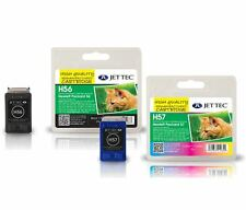 HP56 + HP57 Remanufactured Printer Ink Cartridges