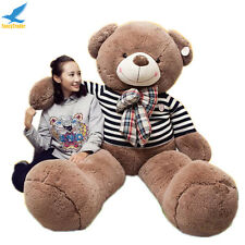 "71"" Giant Huge Stuffed Animal Teddy Bear Plush Soft Toy 180CM Valentines Gift"