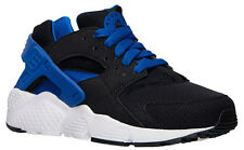NIKE AIR HUARACHES RUN(GS) WMN/BYS/GRLST RAINER BLK/BLUE/WHT ALL SIZE