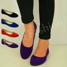 NEW WOMENS BALLERINAS LADIES DOLLY PUMPS BALLET SUMMER FLATS  SHOES SIZE UK 3-8