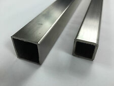 Brushed Stainless Steel Square Box Various Sizes
